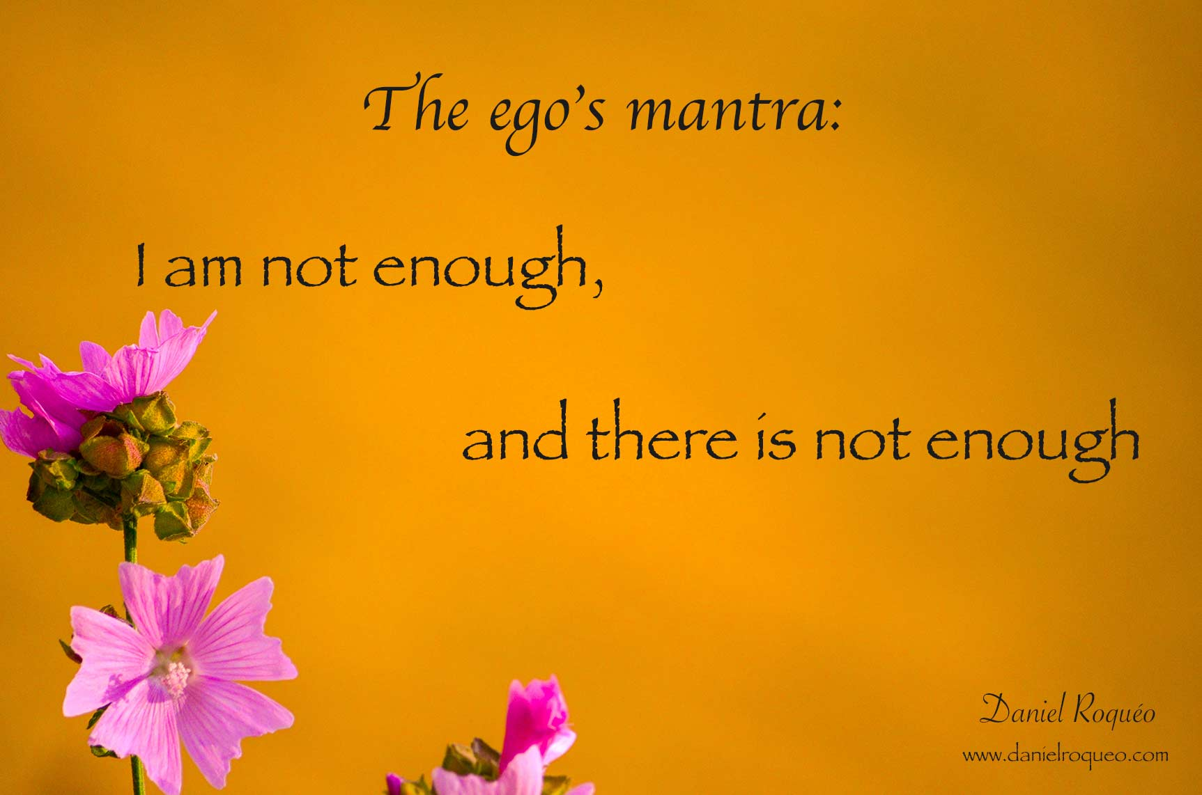 the egoic mantra