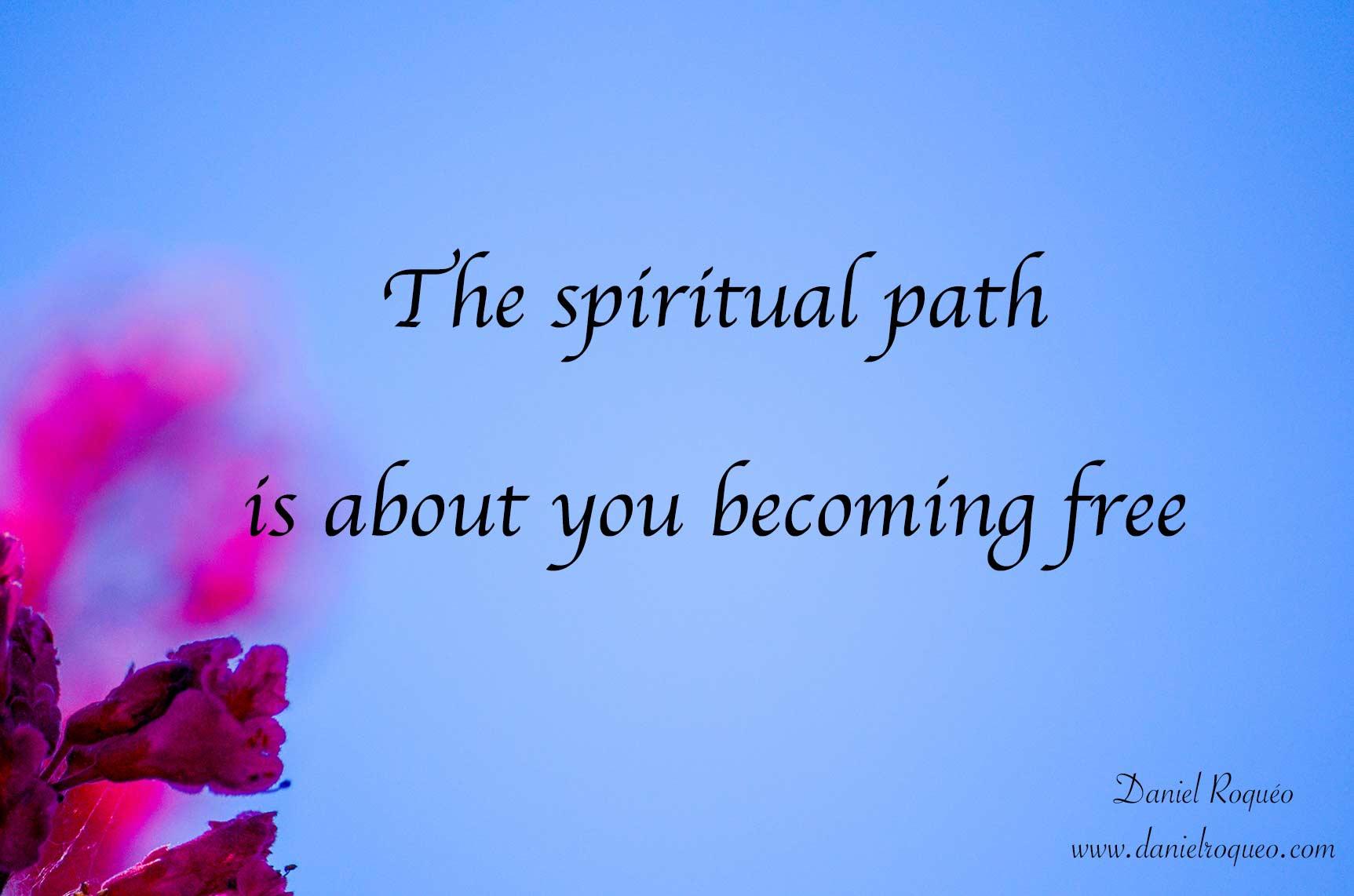 As a spiritual counselor I help you become free