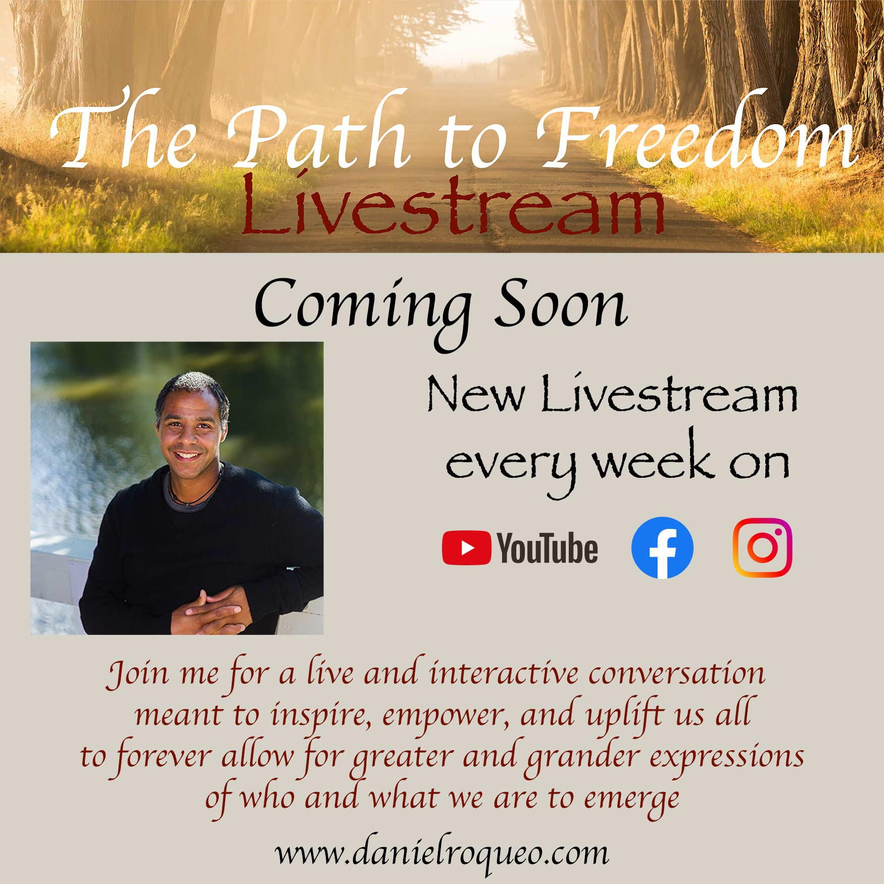 Path to freedom Livestream