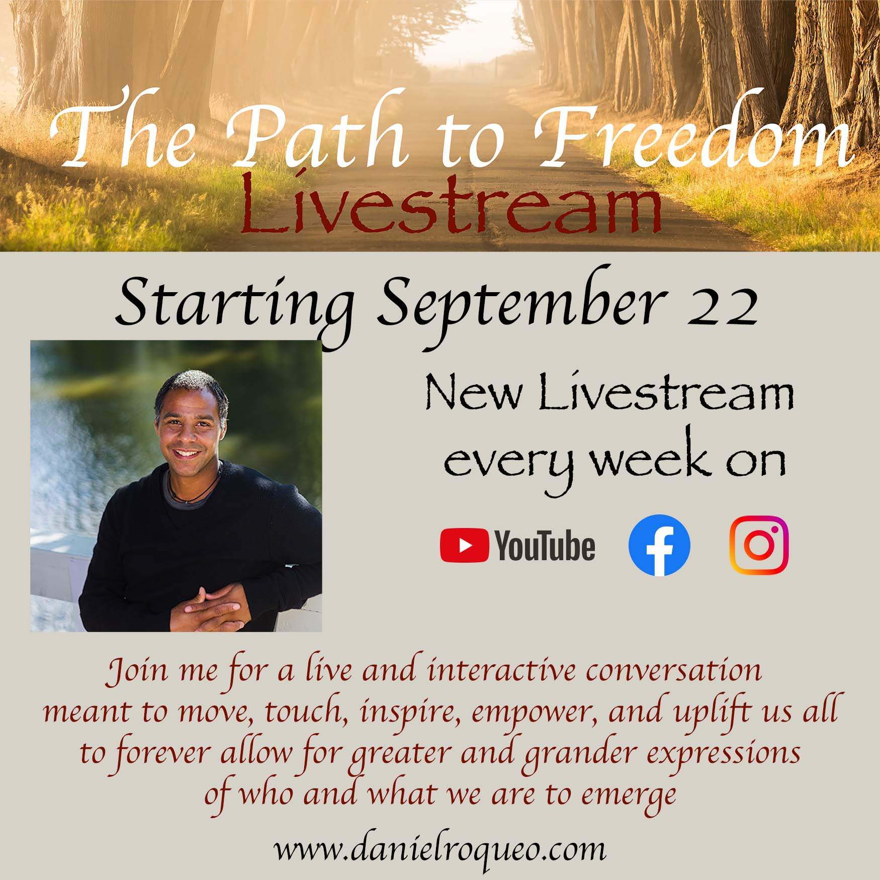 The path to freedom Livestream